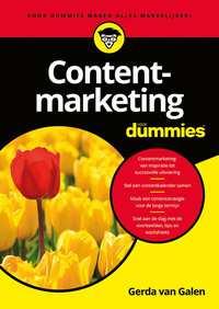 Contentmarketing voor Dummies-Gerda van Galen