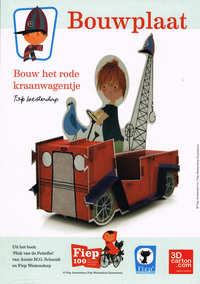Kraanwagentje Fiep bouwplaat-Fiep Westendorp
