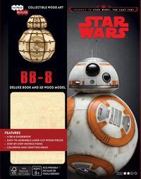 Star Wars - BB-8 Deluxe Boek met houten model BB-8-George Lucas