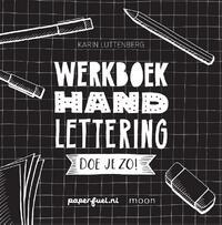Handlettering doe je zo! Werkboek-Karin Luttenberg
