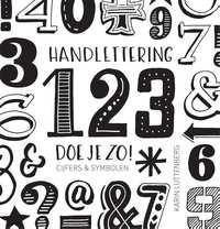 Handlettering 123 doe je zo!-Karin Luttenberg