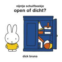Open of dicht? (Nijntje schuifboekje)-Dick Bruna