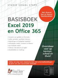 Basisboek Excel 2019 en Office 365-Studio Visual Steps