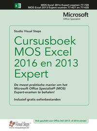 Cursusboek MOS Excel 2016 en 2013 Expert-Studio Visual Steps