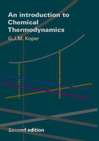 Introduction to Chemical Thermodynamics-G.J.M. Koper