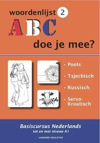 ABC - Doe je mee? Woordenlijst 2-R. van der Knaap