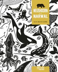 Neushoorn en Narwal-Corien Oranje