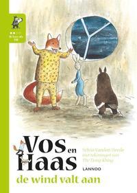 Ik leer lezen met Vos en Haas - Ik lees als Uil - De wind valt aan-Sylvia Vanden Heede, Thé Tjong Khing
