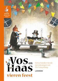 Ik leer lezen met Vos en Haas - Vos en Haas vieren feest-Sylvia Vanden Heede
