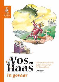 Ik leer lezen met Vos en Haas - Vos en Haas in gevaar-Sylvia Vanden Heede, Thé Tjong Khing