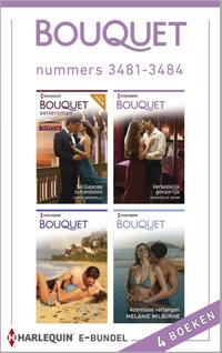 Bouquet e-bundel nummers 3481-3484 (4-in-1)-Caitlin Crews, Carole Marinelli, Chantelle Shaw, Melanie Milburne-eBook