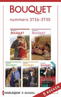 Bouquet e-bundel nummers 3726-3730 (5-in-1)-Amy Andrews, Annie West, Fiona Harper, Joss Wood, Julia James, Lynne Graham, Melanie Milburne, Tara Pammi-eBook