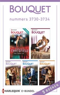 Bouquet e-bundel nummers 3730-3734 (5-in-1)-Amy Andrews, Cathy Williams, Fiona Harper, Joss Wood, Melanie Milburne, Michelle Smart, Rachael Thomas, Susan Stepens, Tara Pammi-eBook