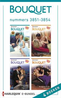 Bouquet e-bundel nummers 3851 - 3854 (4-in-1)-Abby Green, Annie West, Jane Porter, Kate Hewitt-eBook