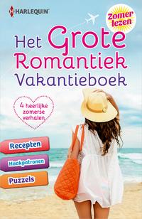 Het Grote Romantiek Vakantieboek (4-in-1)-Anna Cleary, Jessica Hart, Margaret Barker, Sharon Kendrick-eBook