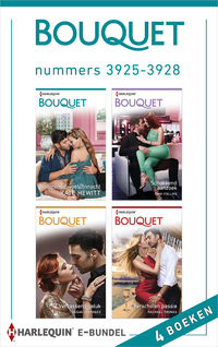Bouquet e-bundel nummers 3925 - 3928-Dani Collins, Kate Hewitt, Rachael Thomas, Susan Stephens-eBook