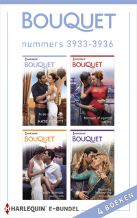 Bouquet e-bundel nummers 3933 - 3936-Dani Collins, Heidi Rice, Kate Hewitt, Maya Blake-eBook
