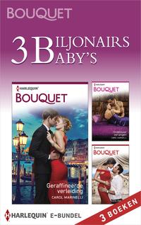 3 Biljonairs, 3 Baby's (3-In-1)-Carol Marinelli-eBook