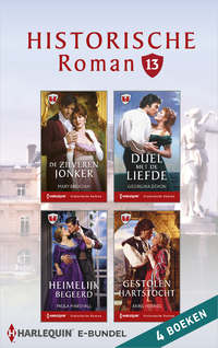 Historische roman e-bundel 13-Anne Herries, Georgina Devon, Mary Brendan, Paula Marshall-eBook