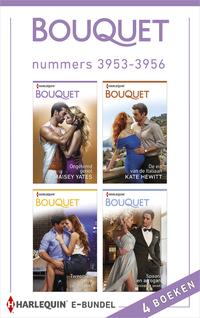 Bouquet e-bundel nummers 3953 - 3956-Caitlin Crews, Kate Hewitt, Maisey Yates, Michelle Smart-eBook