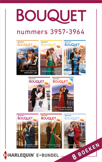 Bouquet e-bundel nummers 3957 - 3964-Annie West, Bella Frances, Cathy Williams, Fleur van Ingen, Jane Porter, Julia James, Melanie Milburne, Miranda Lee-eBook