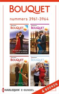 Bouquet e-bundel nummers 3961 - 3964-Annie West, Bella Frances, Fleur van Ingen, Melanie Milburne-eBook