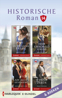 Historische roman e-bundel 14-Ann Elizabeth Cree, Helen Dickson, Margo Maguire, Paula Marshall-eBook