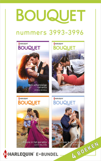 Bouquet e-bundel nummers 3993 - 3996 (4-in-1)-Angela Bissell, Annie West, Cathy Williams, Jennie Lucas-eBook