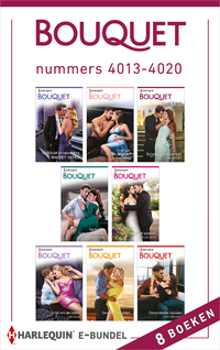 Bouquet e-bundel nummers 4013 - 4020-Caitlin Crews, Cathy Williams, Dani Collins, Jennifer Hayward, Lucy Ellis, Maisey Yates, Pippa Roscoe, Sara Craven-eBook