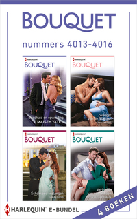 Bouquet e-bundel nummers 4013 - 4016-Dani Collins, Jennifer Hayward, Maisey Yates, Sara Craven-eBook