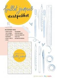Starterspakket Bullet Journal – Gouden Lijntjes-Anne Jorinde