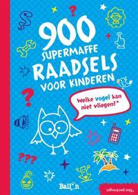 900 Supermaffe Raadsels Voor Kinderen-Greet Bauweleers