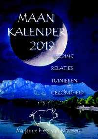 Maankalender 2019, scheurkalender-Marjanne Hess-van Klaveren