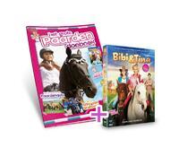 Paardendoeboek + DVD Bibi en Tina bioscoopfilm-