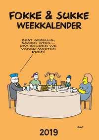 Fokke & Sukke weekkalender-Bastiaan Geleijnse, Jean-Marc van Tol, John Reid