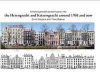 The Herengracht and Keizersgracht in 1768 and now-Theo Bakker