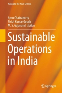 Sustainable Operations in India-