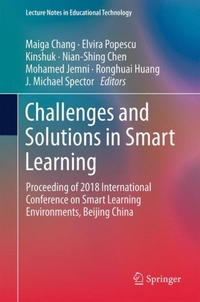 Challenges and Solutions in Smart Learning-