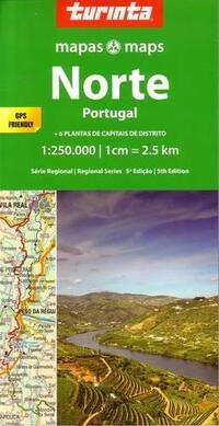 Map North Portugal-