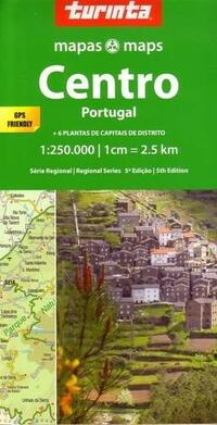 Map Central Portugal-